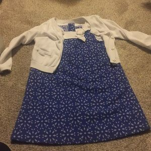 Other - 3t dress and cardigan
